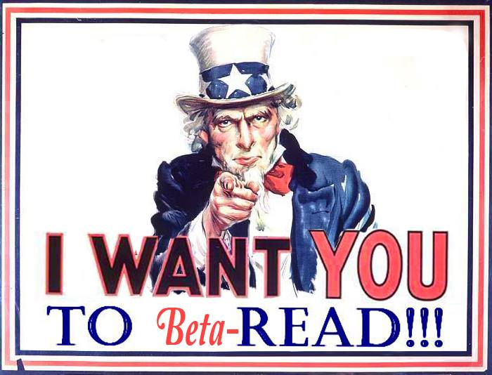 I Want You to Beta Read