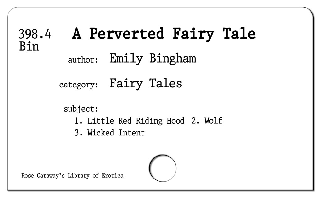 A perverted Fairy Tale