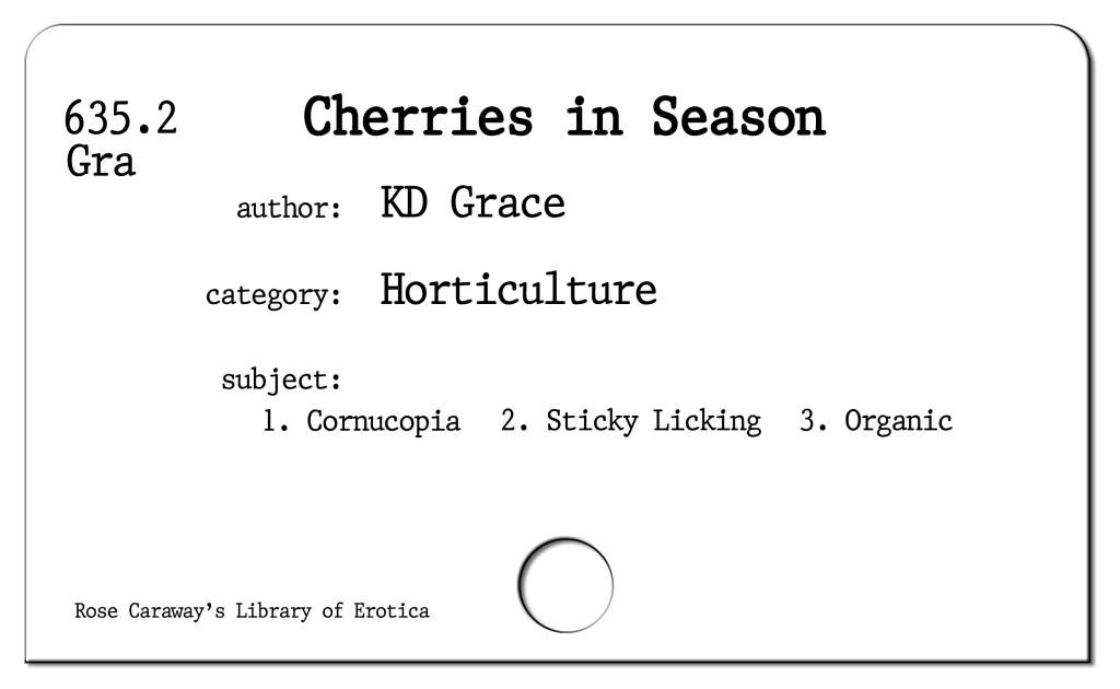 Cherries in Season