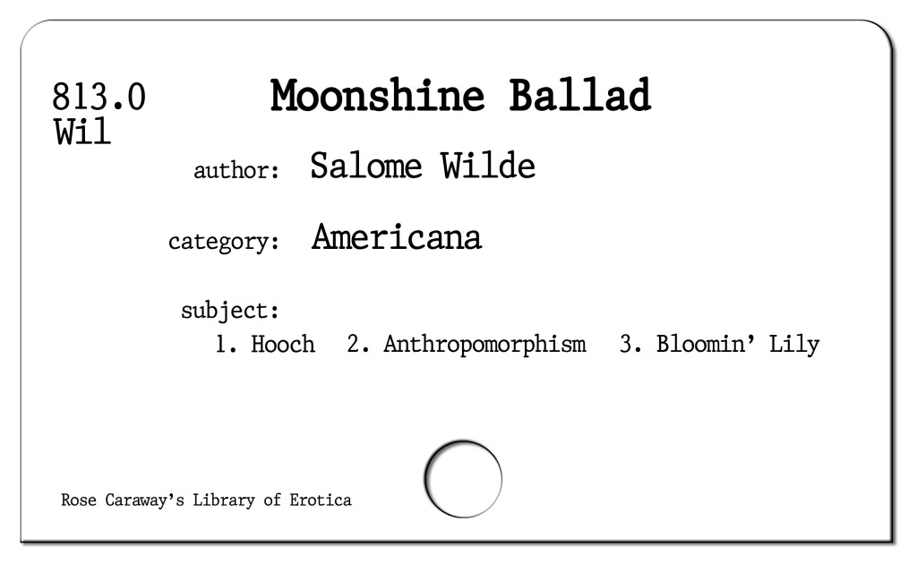 Moonshine Ballad