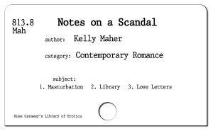 Notes of a Scandal