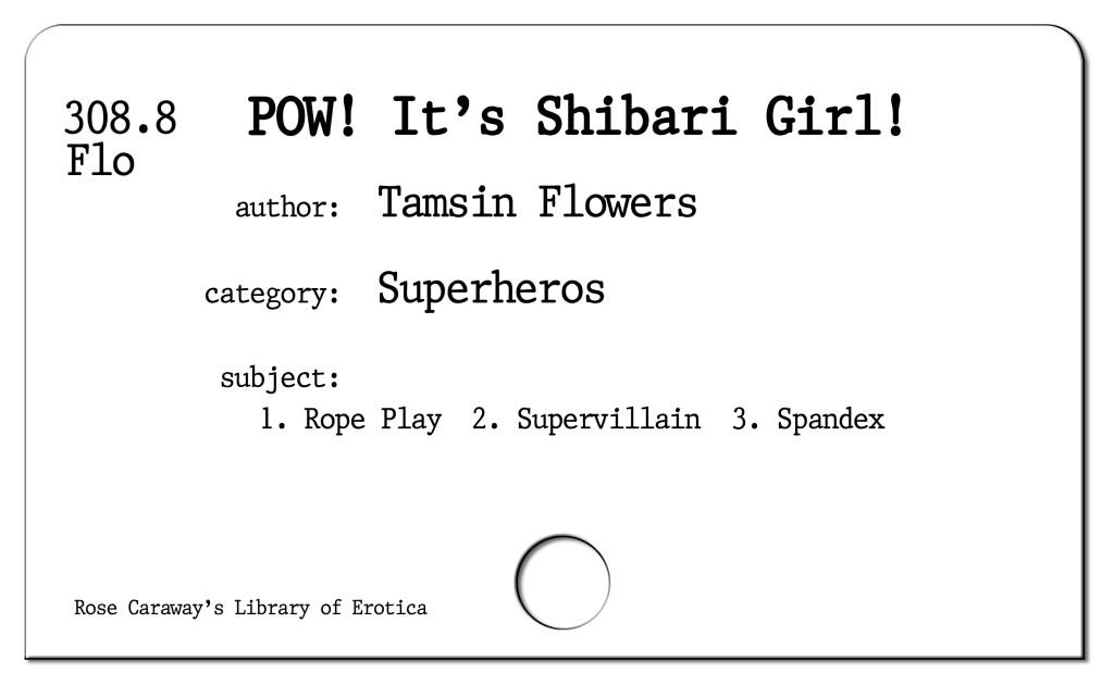 POW! It's Shibari Girl!