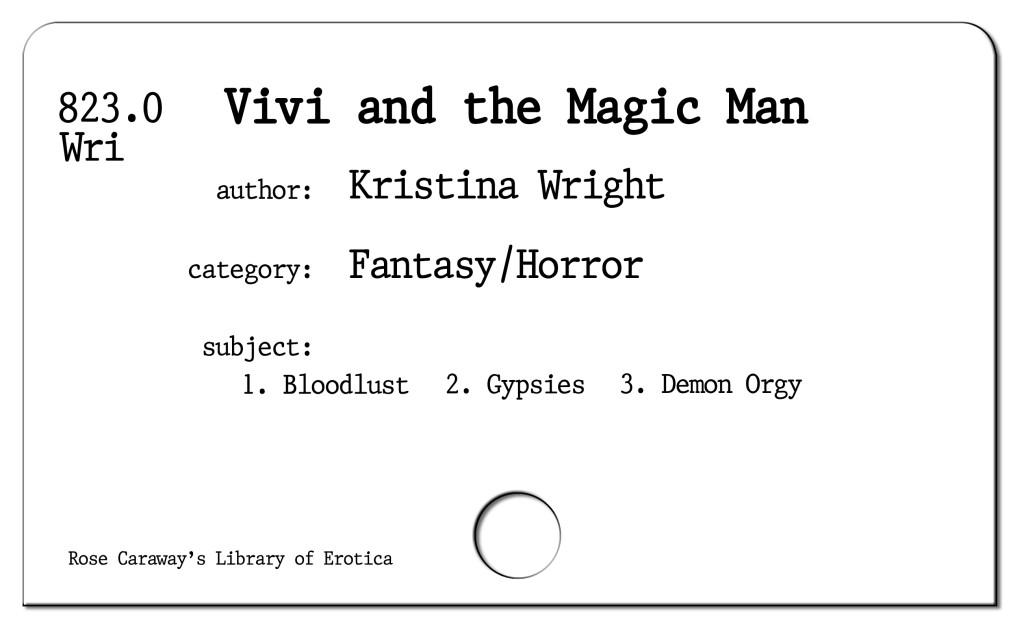 Vivi and the Magic Man