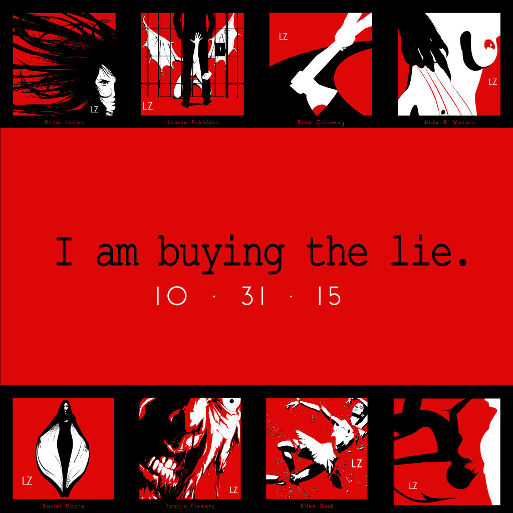 I am buying the lie Author Artwork